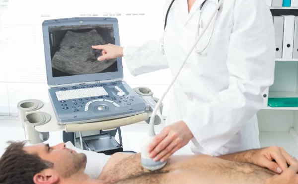 Exame de ecocardiograma